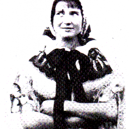 Helena Salichová v galerii Chagall