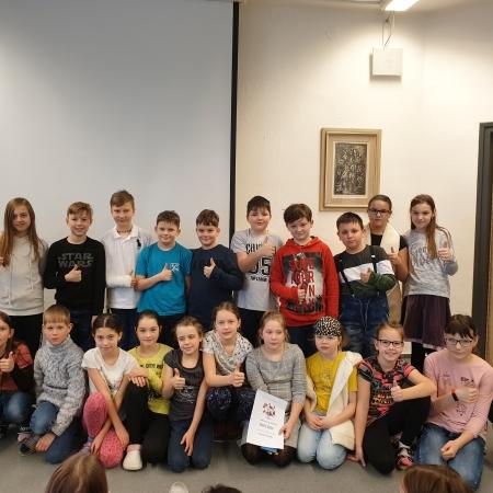 Recitační soutěž čtvrtých a pátých tříd