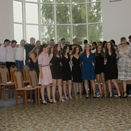 Slavnostní vyřazení žáků 9. ročníku